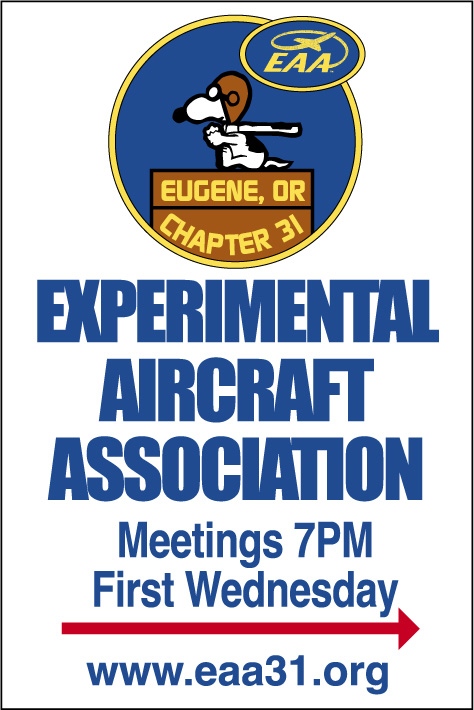 EAA Chapter 31 Front Gate Sign