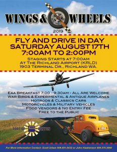 Image result for wing and wheels at richland airport